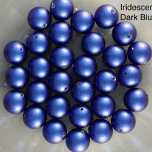 Iridescent Dark Blue